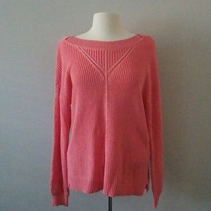 ⭐HP⭐ NWT Cable-knit Salmon Colored Sweater